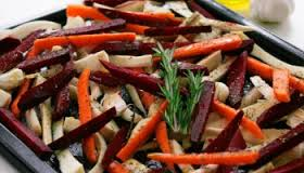 beets, carrots, parsnips